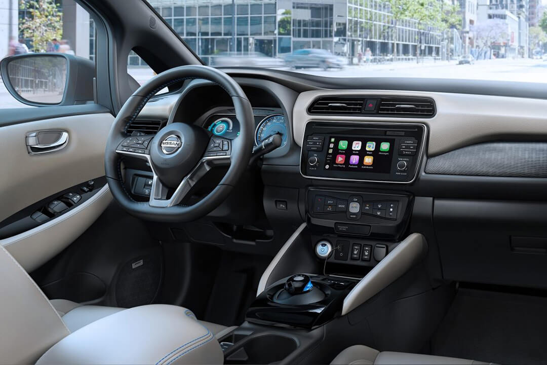 apple-carplay-i-en-nissan-leaf-2018